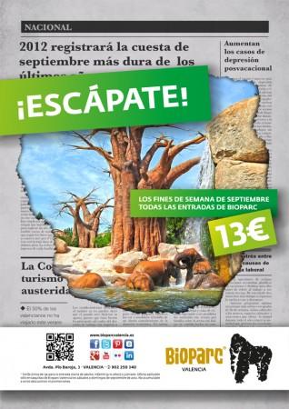 Bioparc valencia empieza septiembre bajando los precios - Bioparc precios valencia ...