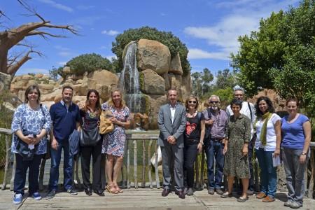La Universitat Politècnica de València y Bioparc Valencia unidos por la concienciación medioambiental