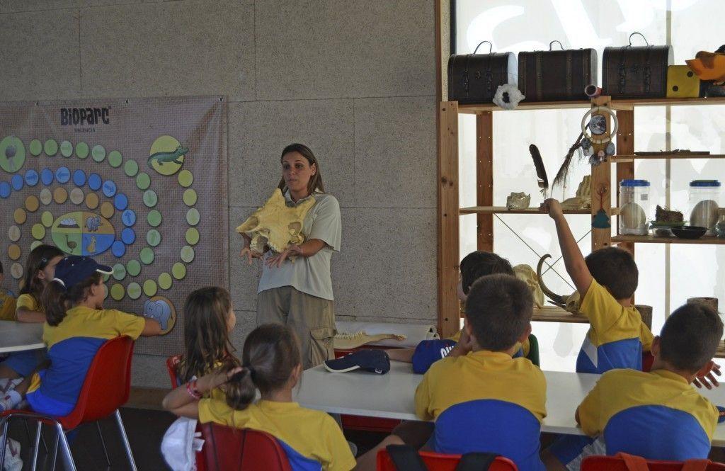 BIOPARC Valencia - visita taller - grupo escolar - octubre 2015