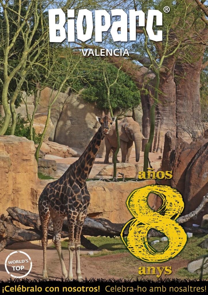 BIOPARC Valencia - 8 años - Celébralo con nosotros