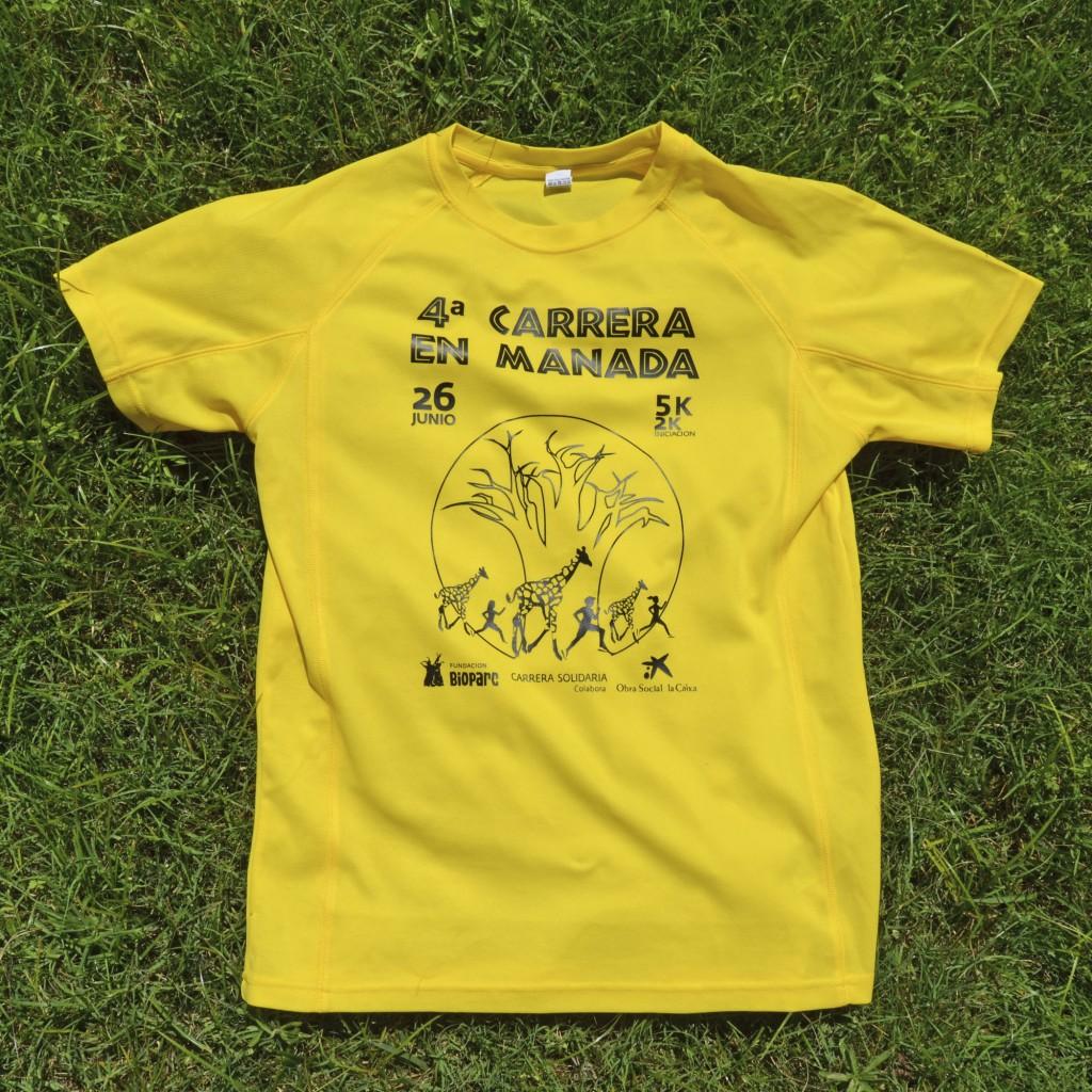 Camiseta 4ª Carrera en Manada BIOPARC Valencia web