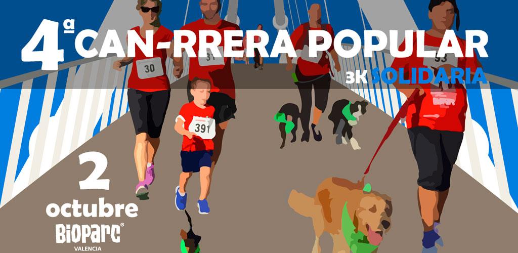 La 4ª CAN-RRERA popular de Valencia abre el plazo de inscripciones