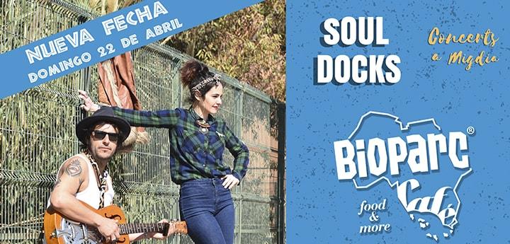 Concierto gratuito Soul Docks
