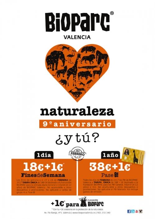 9º aniversario BIOPARC Valencia - BIOPARC Valencia celebra 9 años de amor por la naturaleza