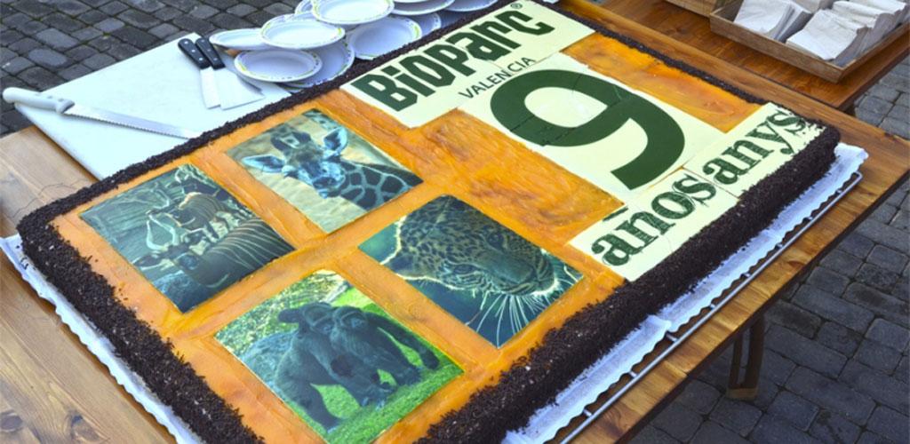 Fin de semana de celebraciones en el 9º aniversario de BIOPARC Valencia