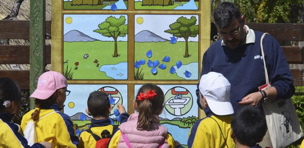 BIOPARC Valencia se une a la celebración del Día Mundial del Agua