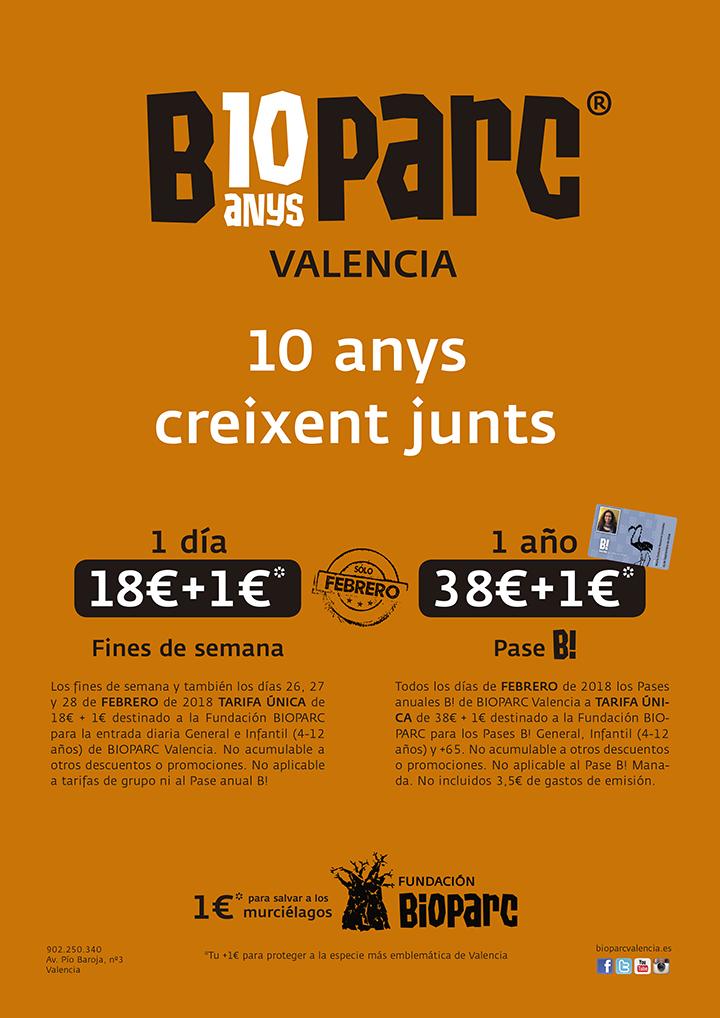 10 anys BIOPARC - 10º aniversario BIOPARC Valencia
