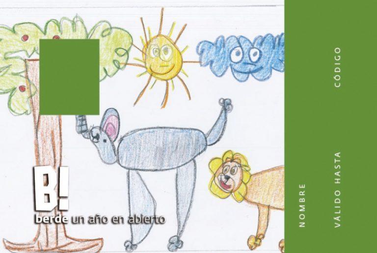 Fruto de la colaboración con el Hospital La Fe, el dibujo de un niño de 5 años ilustrará el Pase B! Infantil de BIOPARC