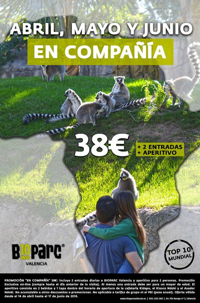 Promoción EN COMPAÑÍA - BIOPARC Valencia primavera 2018