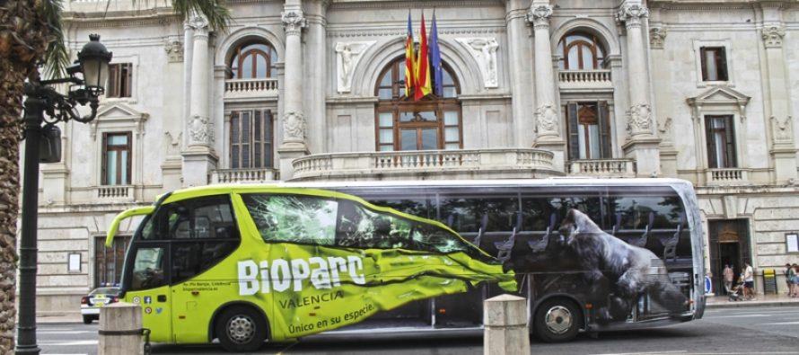 BUS BIOPARC BIOPARContheRoad Plaza del Ayuntamiento Valencia