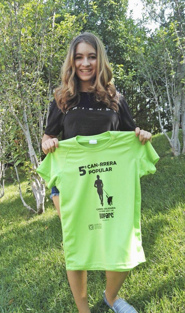 """Carlota Boza, de la serie de TV """"La que se avecina"""" ha querido apoyar este evento solidario."""