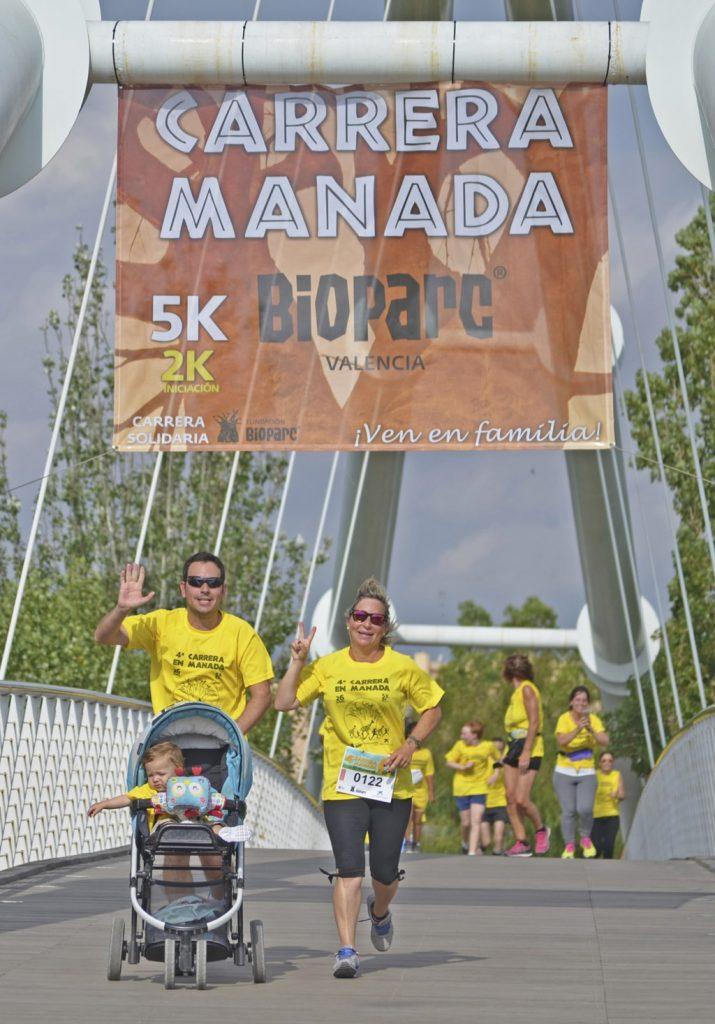 BIOPARC Valencia abre la inscripción de la 5ª Carrera en Manada que se celebrará el 3 de diciembre
