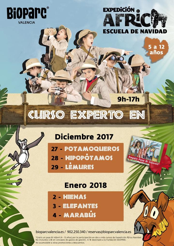 Expedición África Navidad 2017 - BIOPARC - escuela de vacaciones
