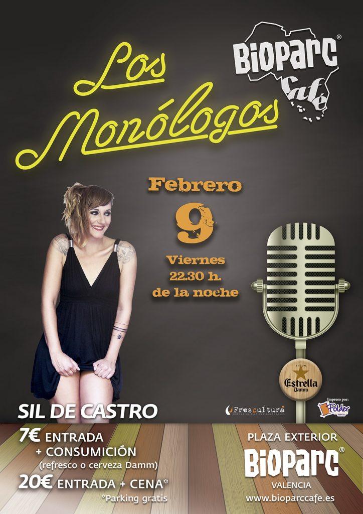 Sil de Castro - monólogos BIOPARC Café