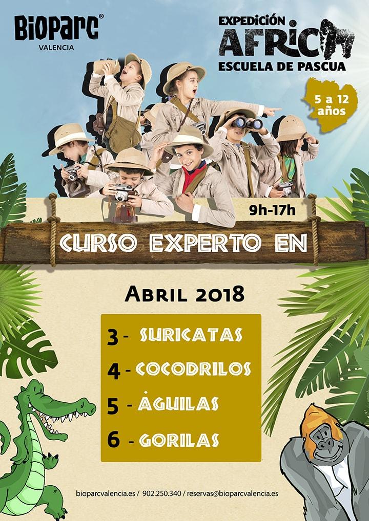 Escuela de Pascua - Expedición África 2018 - BIOPARC Valencia