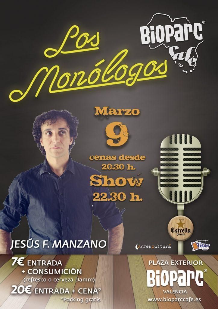 Jesús F. Manzano en los monólogos de BIOPARC Café