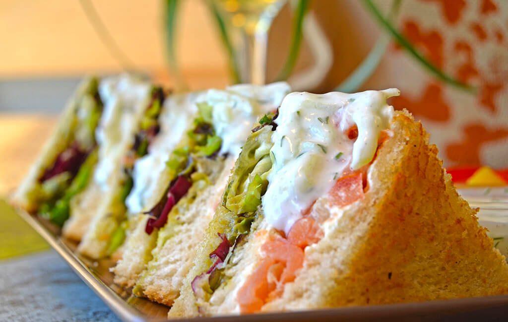 Sándwich La Jefa - restaurante BIOPARC Café
