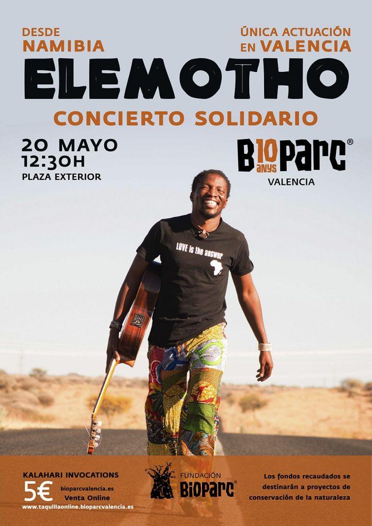 Concierto Elemotho en la plaza exterior de BIOPARC Valencia