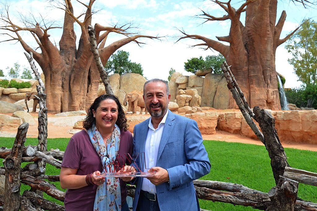 FANUCOVA (Federación de Familias Numerosas de la Comunidad Valenciana) otorga el galardón Familias XL de 2018 a BIOPARC por su apoyo en los años de existencia del parque.