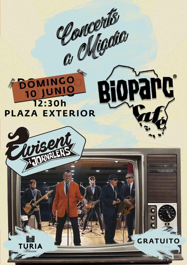 Este domingo concierto gratuito homenaje al rey del rock con ELVISENT i Jornalers en BIOPARC Valencia
