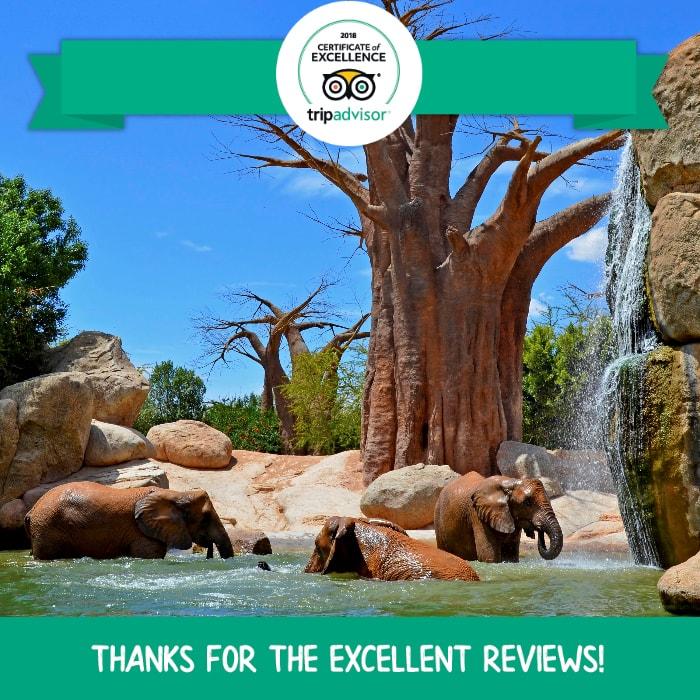 9º mejor parque de animales del mundo - TripAdvisor