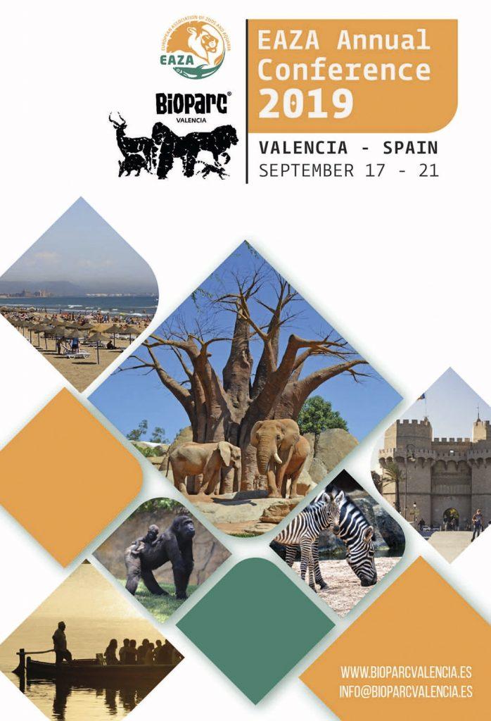 BIOPARC Valencia acogerá la Conferencia Anual de Conservación de la EAZA en 2019