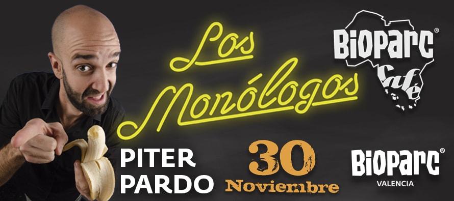 30 noviembre Piter Pardo en BIOPARC Cafe