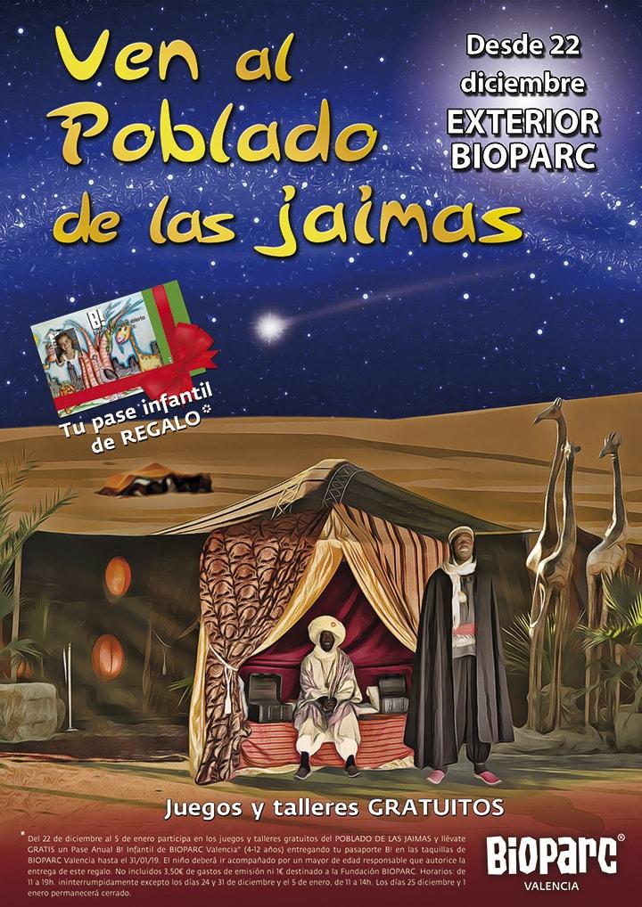 Navidad 2018 Poblado de las Jaimas BIOPARC Valencia