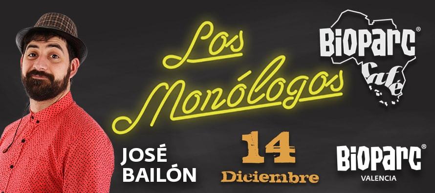 Este viernes BIOPARC Café nos trae a José Bailón, un referente de la comedia española