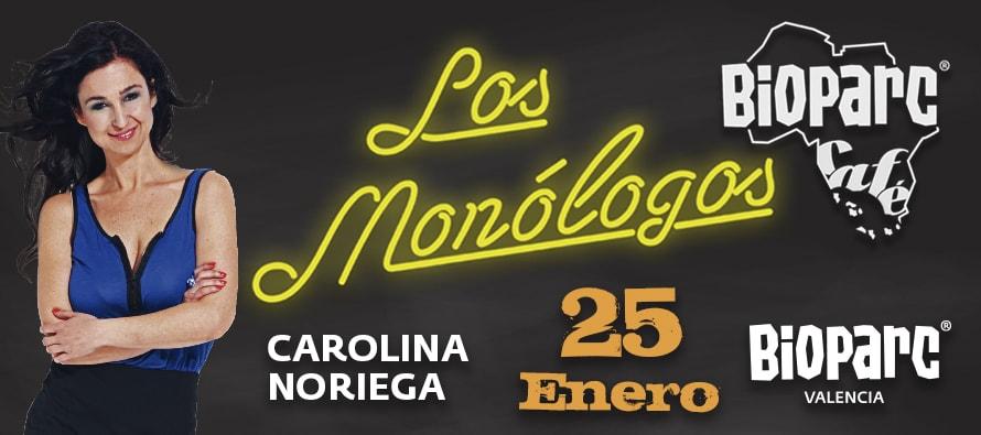 El humor de Carolina Noriega este viernes 25 de enero en BIOPARC Café