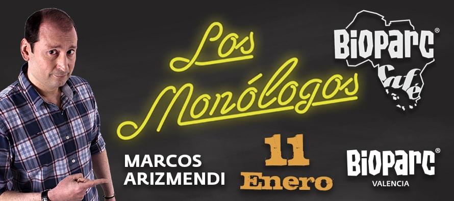 BIOPARC Café inaugura sus monólogos 2019 con el humor de Marcos Arizmendi
