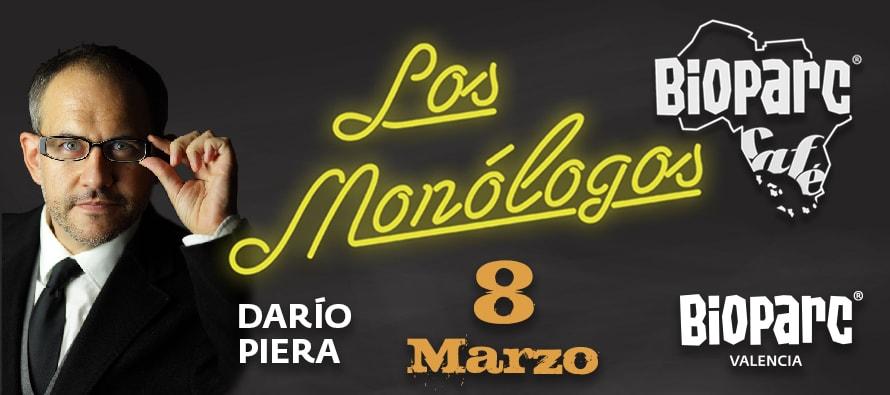 El polifacético Darío Piera este viernes 8 de marzo en BIOPARC Café
