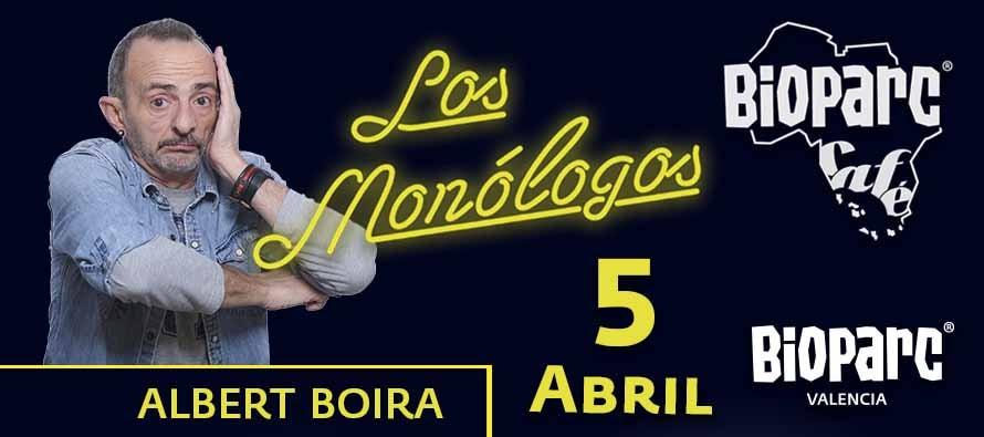 """BIOPARC Café comienza abril con Albert Boira y su espectáculo """"Comediando por la vida"""""""