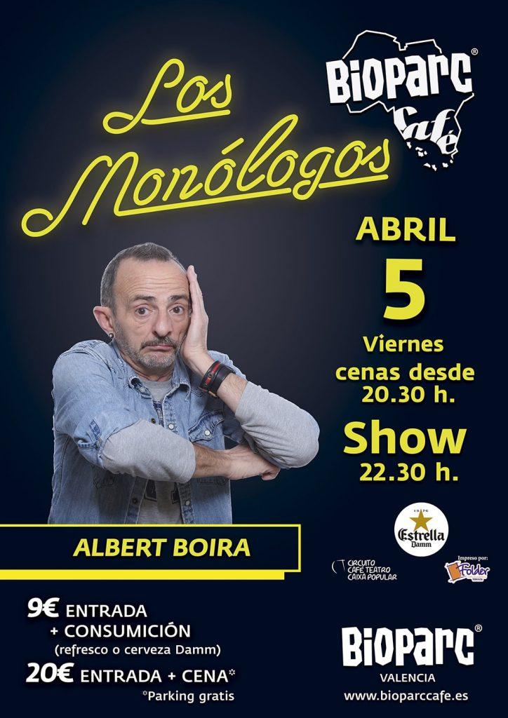 Monologo Albert Boira - BIOPARC Café