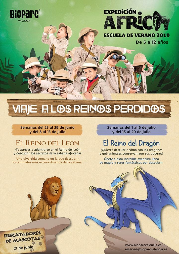 Escuela de verano Expedición África 2019 - BIOPARC Valencia