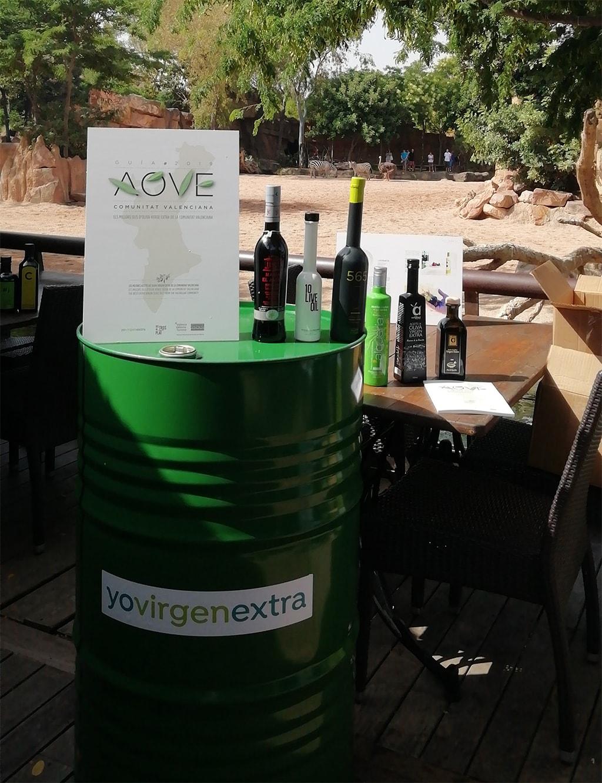 Los mejores aceites de oliva virgen extra de la Comunitat Valenciana se presentan en BIOPARC Valencia