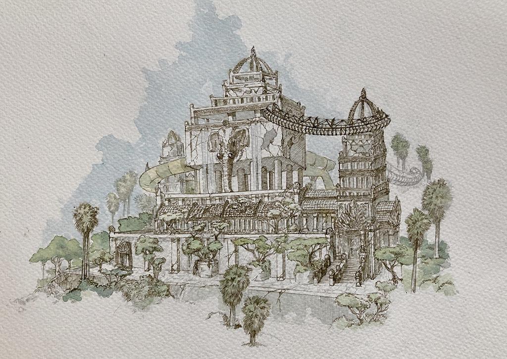 Un nuevo parque de aventura inspirado en las selvas de Camboya completará la oferta de BIOPARC en Valencia