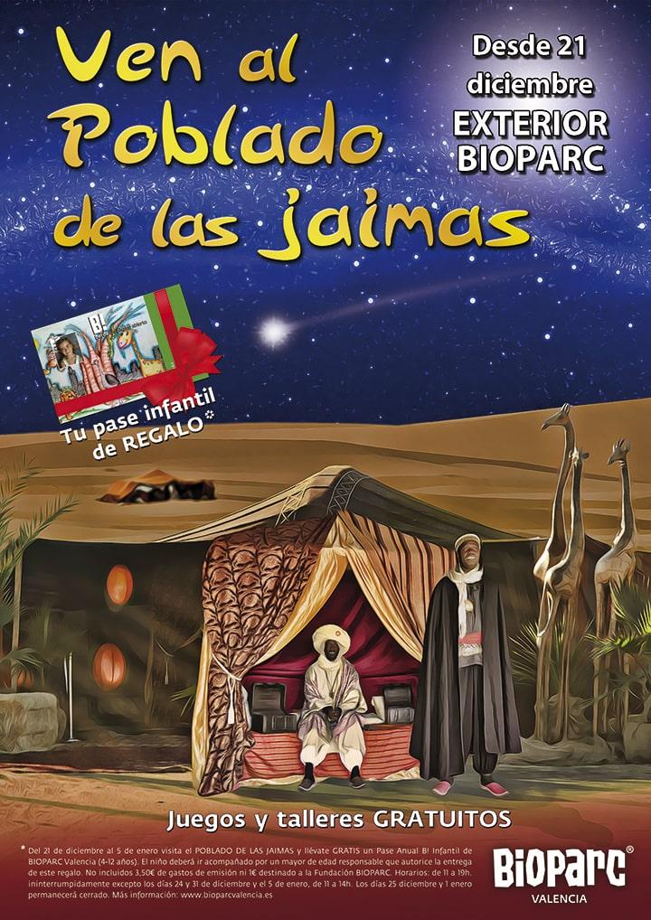 Navidades 2019 - Poblado de las Jaimas BIOPARC Valencia