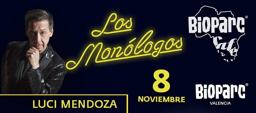 Luci Mendoza en Los Monologos de BIOPARC Cafe