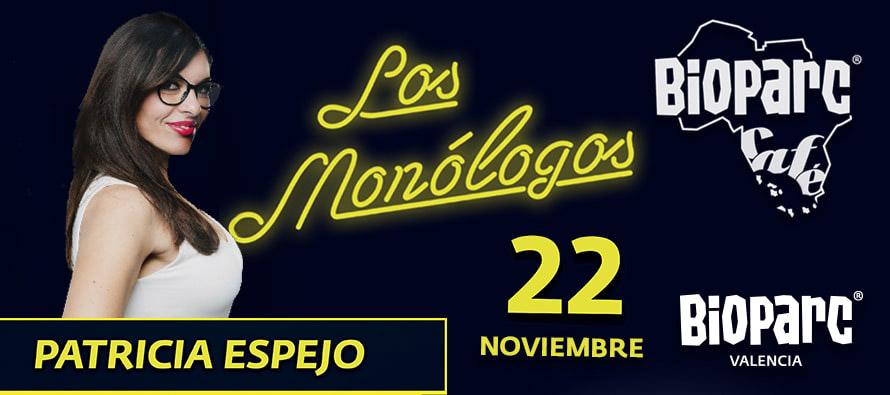 Este viernes 22 de noviembre Patricia Espejo en Los Monólogos de BIOPARC Café