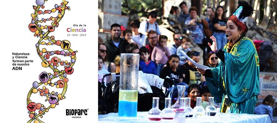 Día Mundial de la Ciencia 2019 en BIOPARC Valencia