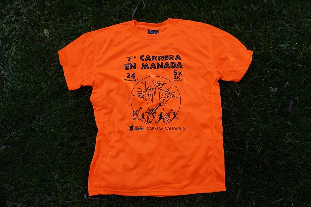Camiseta 7ª Carrera en Manada de BIOPARC Valencia