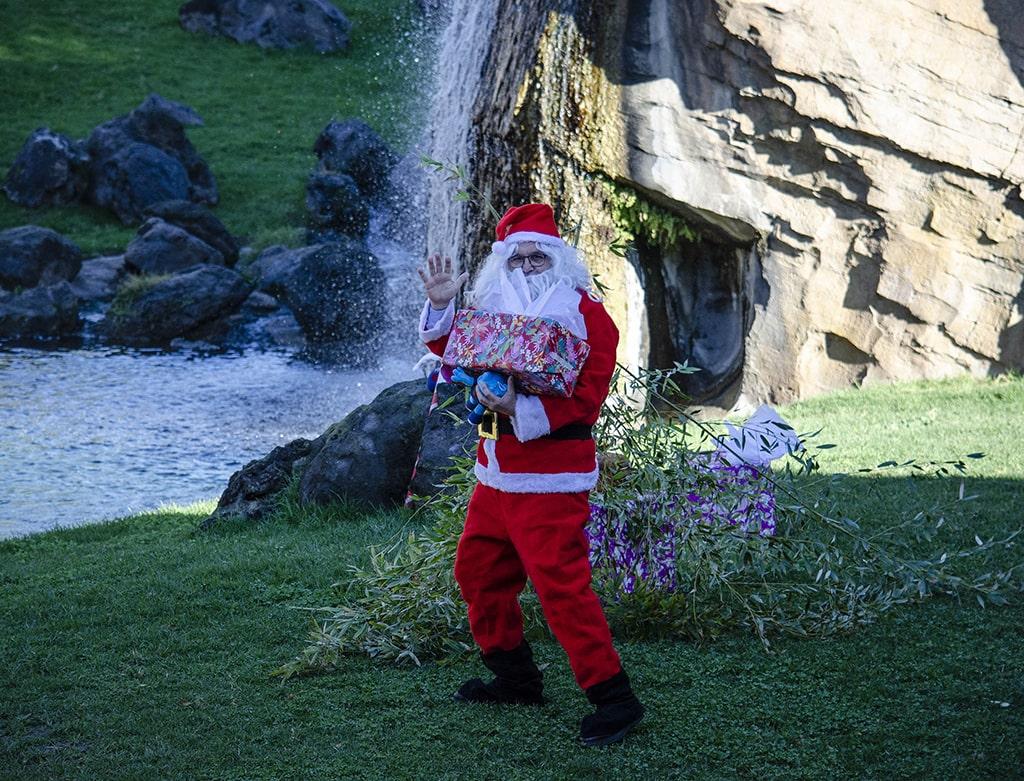 Papá Noel en BIOPARC Valencia