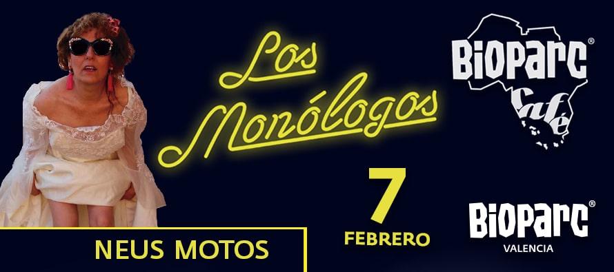 Monólogo de Neus Motos en BIOPARC Café