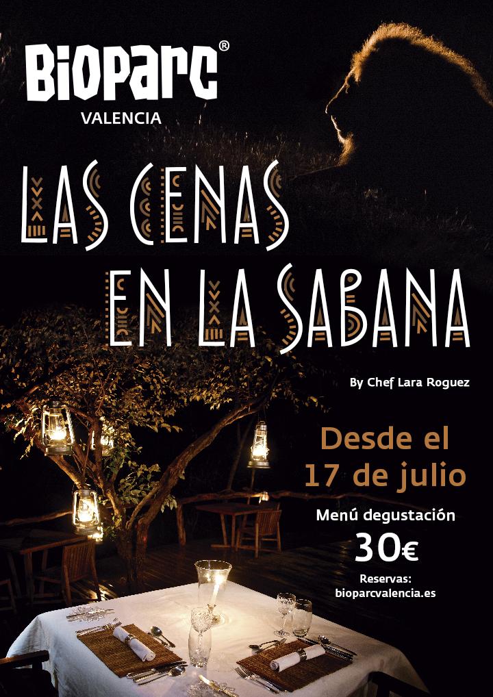Las Cenas en la Sabana BIOPARC Valencia