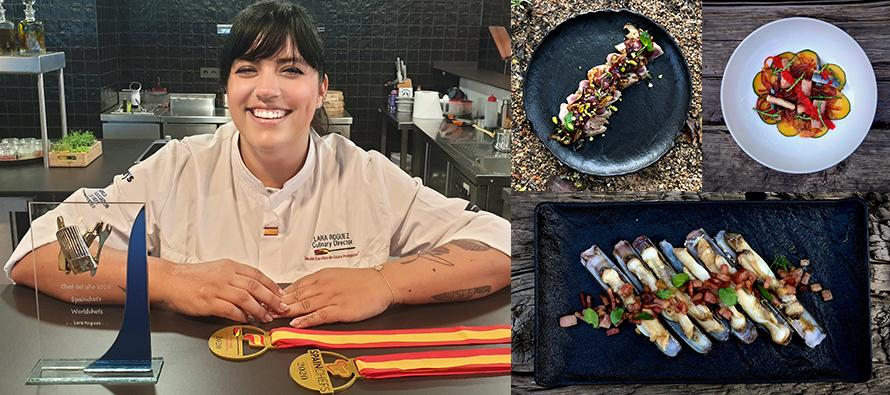 Chef Lara Roguez premio chef del año
