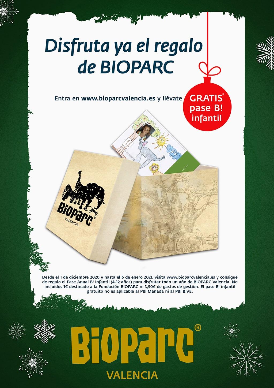 El pase infantil de BIOPARC es el primer regalo de Navidad 2020