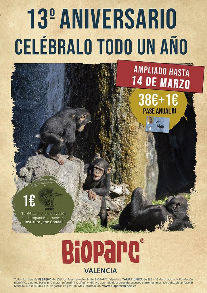 Promociones 13 Aniversario BIOPARC