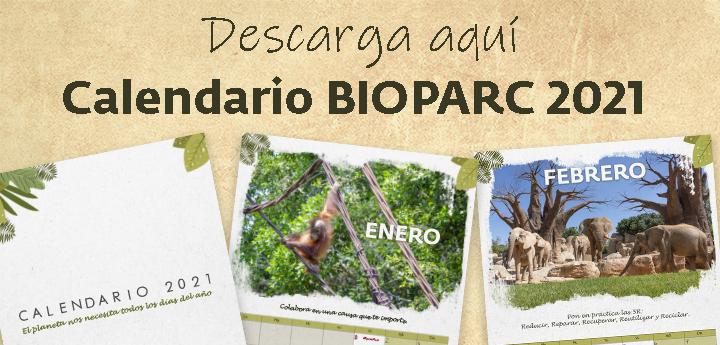 Calendario BIOPARC 2021